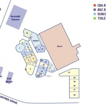 Plan of Arundel Plaza