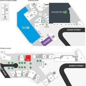 Plan of Auburn Central