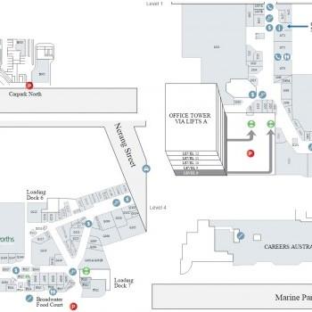 Plan of Australia Fair Shopping Centre