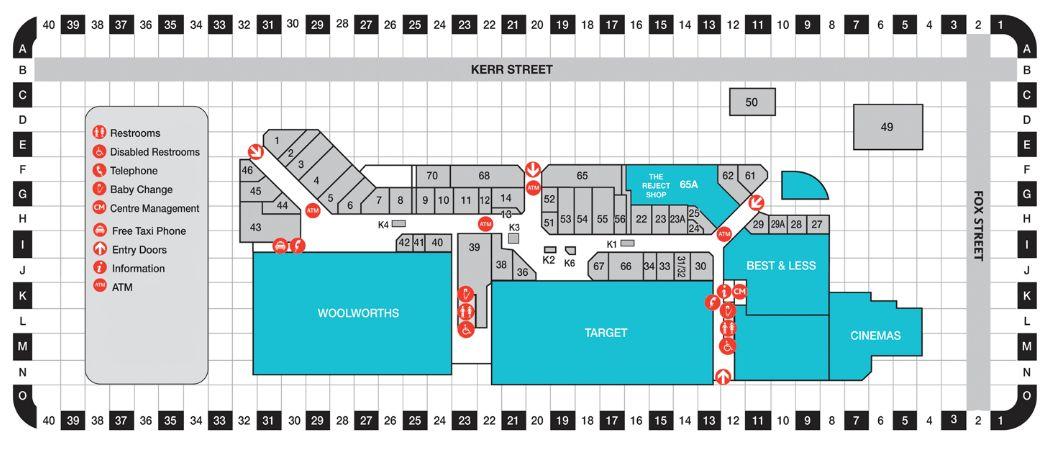 List And Map Ballina Fair Ping Centre