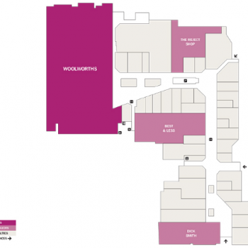 Plan of Bathurst City Centre