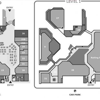 Plan of Bay Village Shopping Centre Noosa
