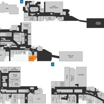 Plan of Birkenhead Point Outlet Centre