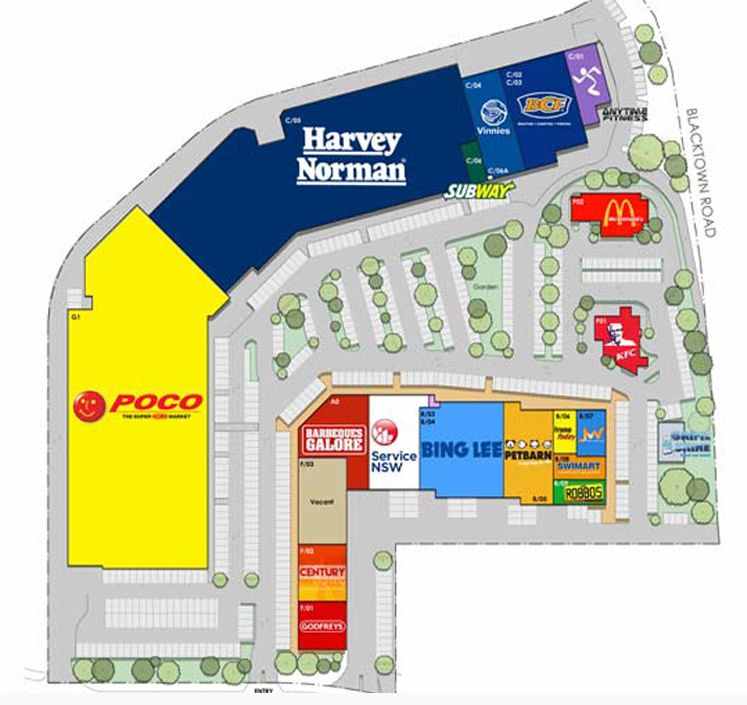 Blacktown Megacentre: Harvey Norman In Blacktown Mega Centre