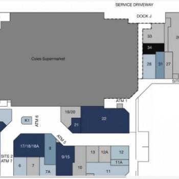 Plan of Bracken Ridge Plaza