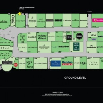 Plan of Brand Smart Premium Outlet Centre
