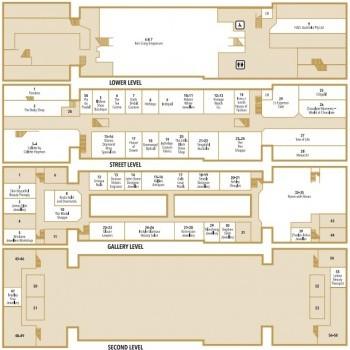 Plan of Brisbane Arcade