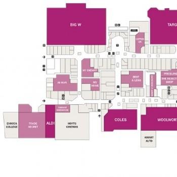 Plan of Broadmeadows Shopping Centre
