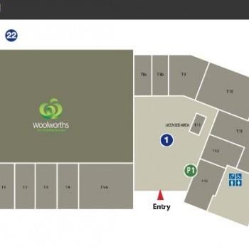 Plan of Cabarita Shopping Centre