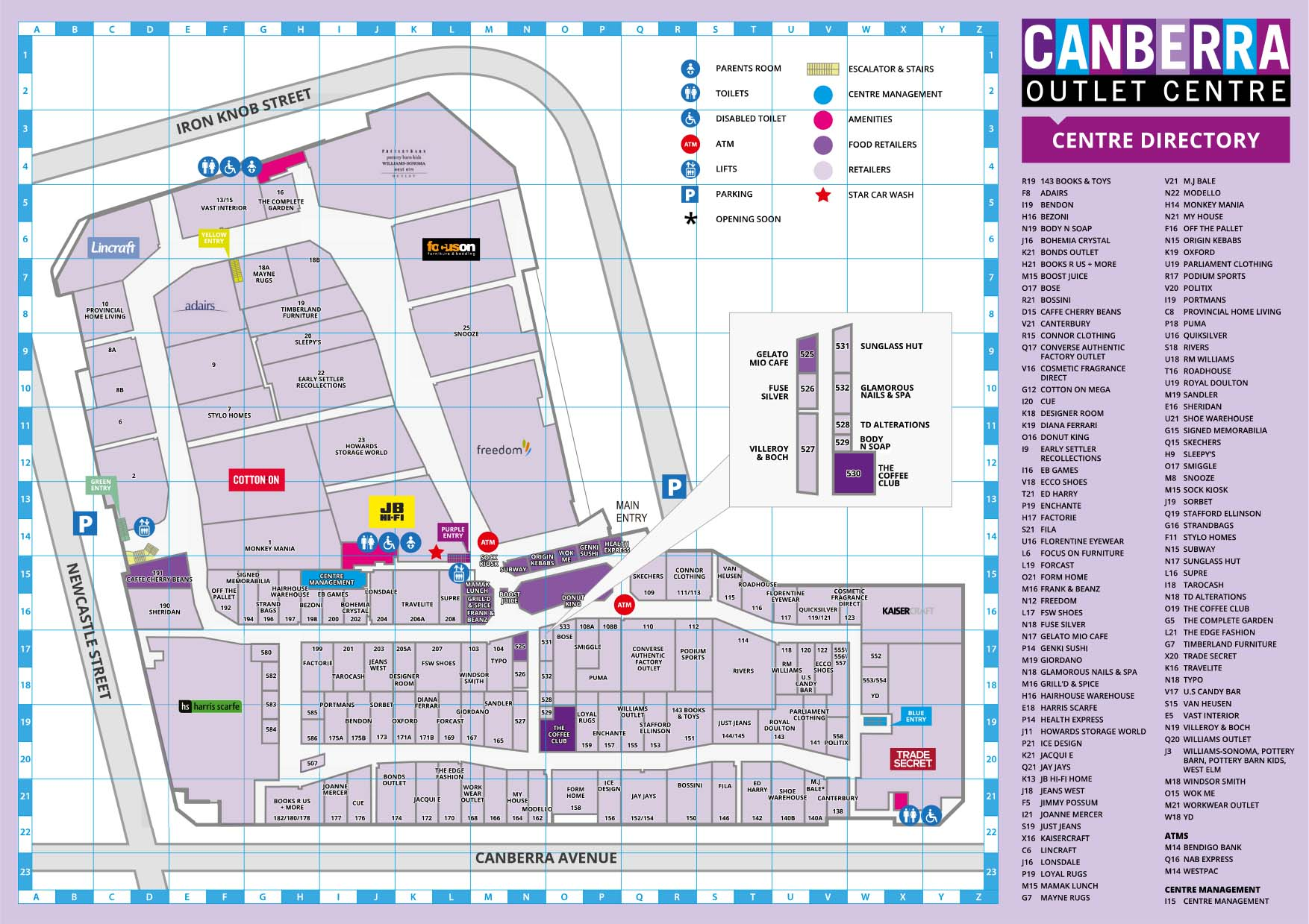 Canberra Centre Map Canberra Centre Map | compressportnederland Canberra Centre Map