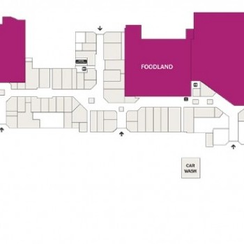 Plan of Castle Plaza Shopping Centre
