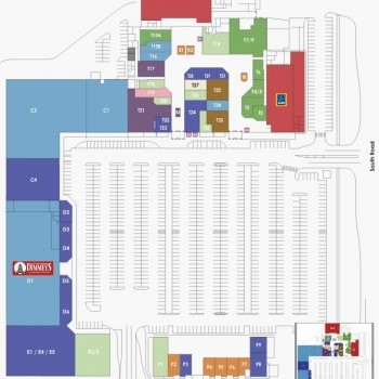 Plan of Central West Shopping Centre