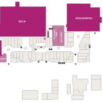Plan of Centro Taigum Square