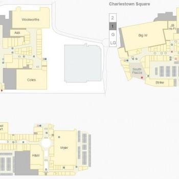 Plan of Charlestown Square