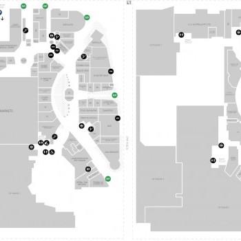 Plan of Chevron Renaissance Shopping Centre