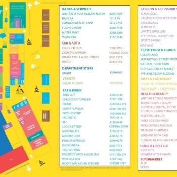 Plan of Churchill Square Shopping Centre