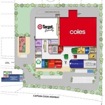 Plan of Clifton Village Shopping Centre