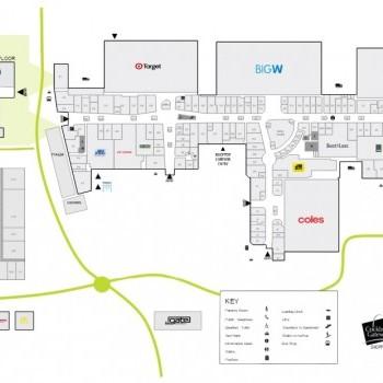 Plan of Cockburn Gateway Shopping City