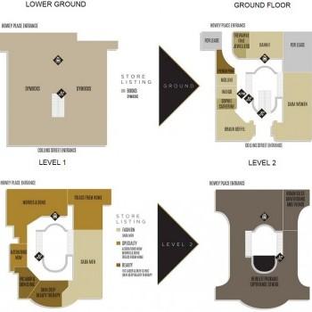Plan of Collins234 Boutique Place