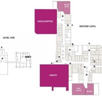 Plan of Corio Village Shopping Centre