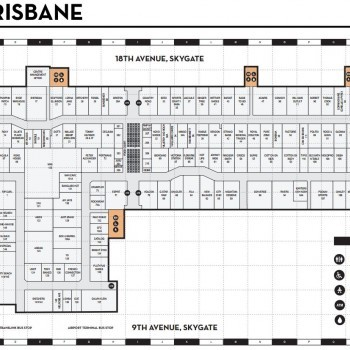 Plan of DFO Brisbane