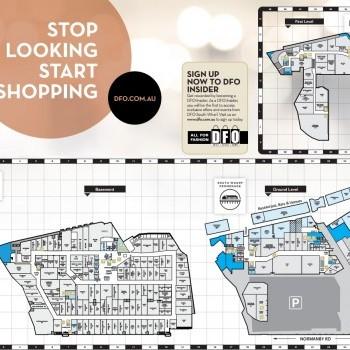Plan of DFO South Wharf