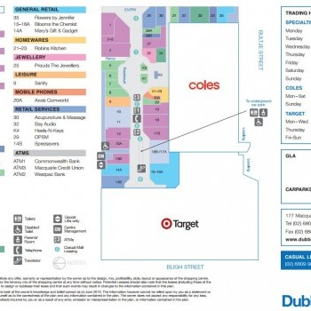 Plan of Dubbo Square