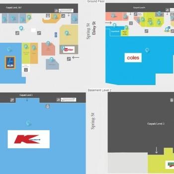 Plan of Eastgate Bondi Junction