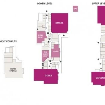 Plan of Eastlands Shopping Centre