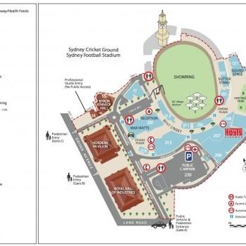 Plan of EQ Village Markets