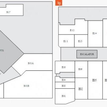 Plan of Galleria