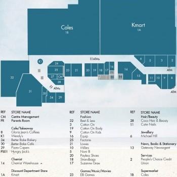Plan of Gateway Plaza