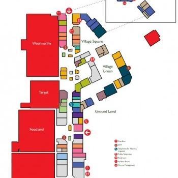 Plan of Golden Grove Village Shopping Centre