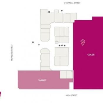 Plan of Goldfields Plaza