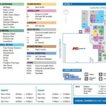 Plan of Goulburn Square
