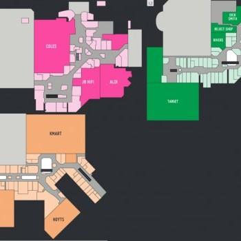 Plan of Greensborough Plaza