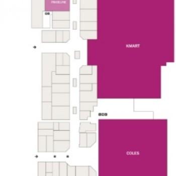 Plan of Halls Head Central