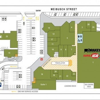 Plan of High Street Shopping Centre