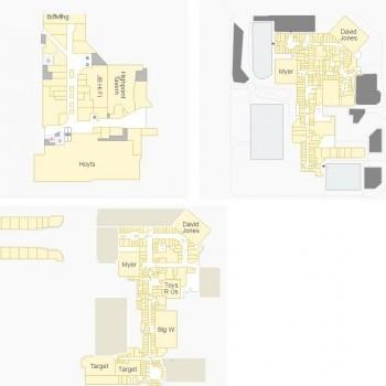 Plan of Highpoint Shopping Centre