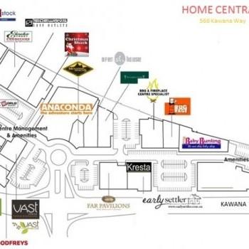 Plan of Home Central Kawana