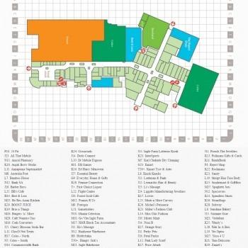 Plan of Ingle Farm Shopping Centre