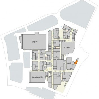 Plan of Kawana Shoppingworld
