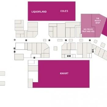 Plan of Keilor Shopping Centre