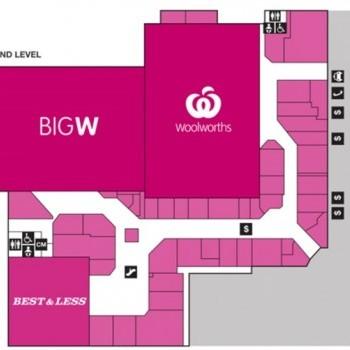 Plan of Kingaroy Shoppingworld