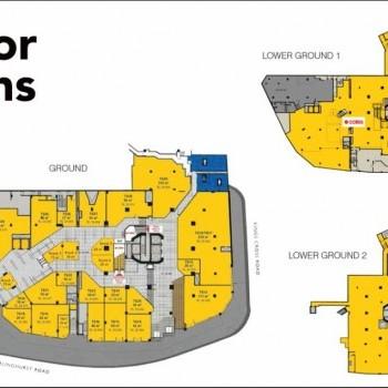 Plan of Kings Cross Centre