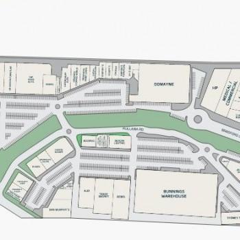 Plan of Kotara Home