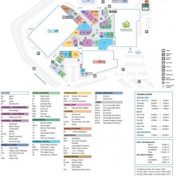 Plan of Lake Macquarie Fair