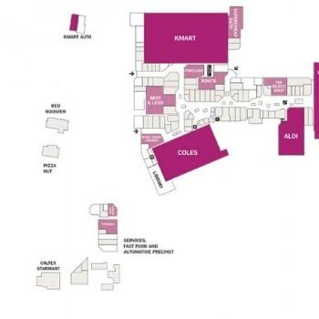 Plan of Lakehaven Shopping Centre