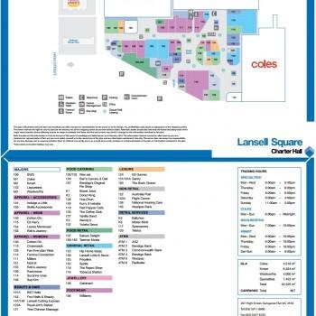 Plan of Lansell Square