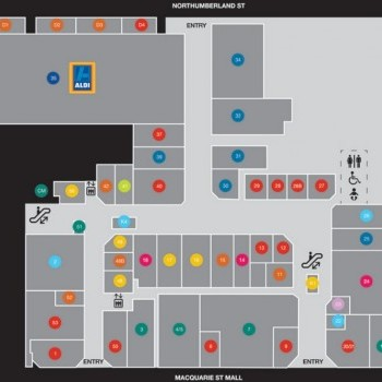 Plan of Liverpool Plaza